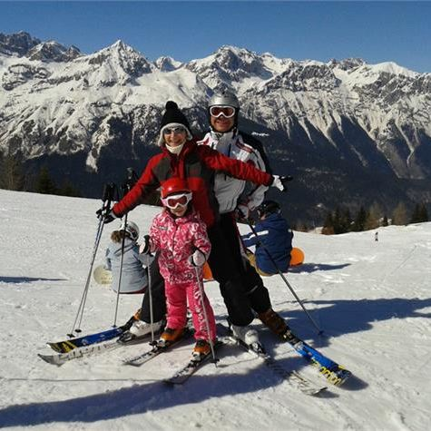 Family hotel ad Andalo in montagna